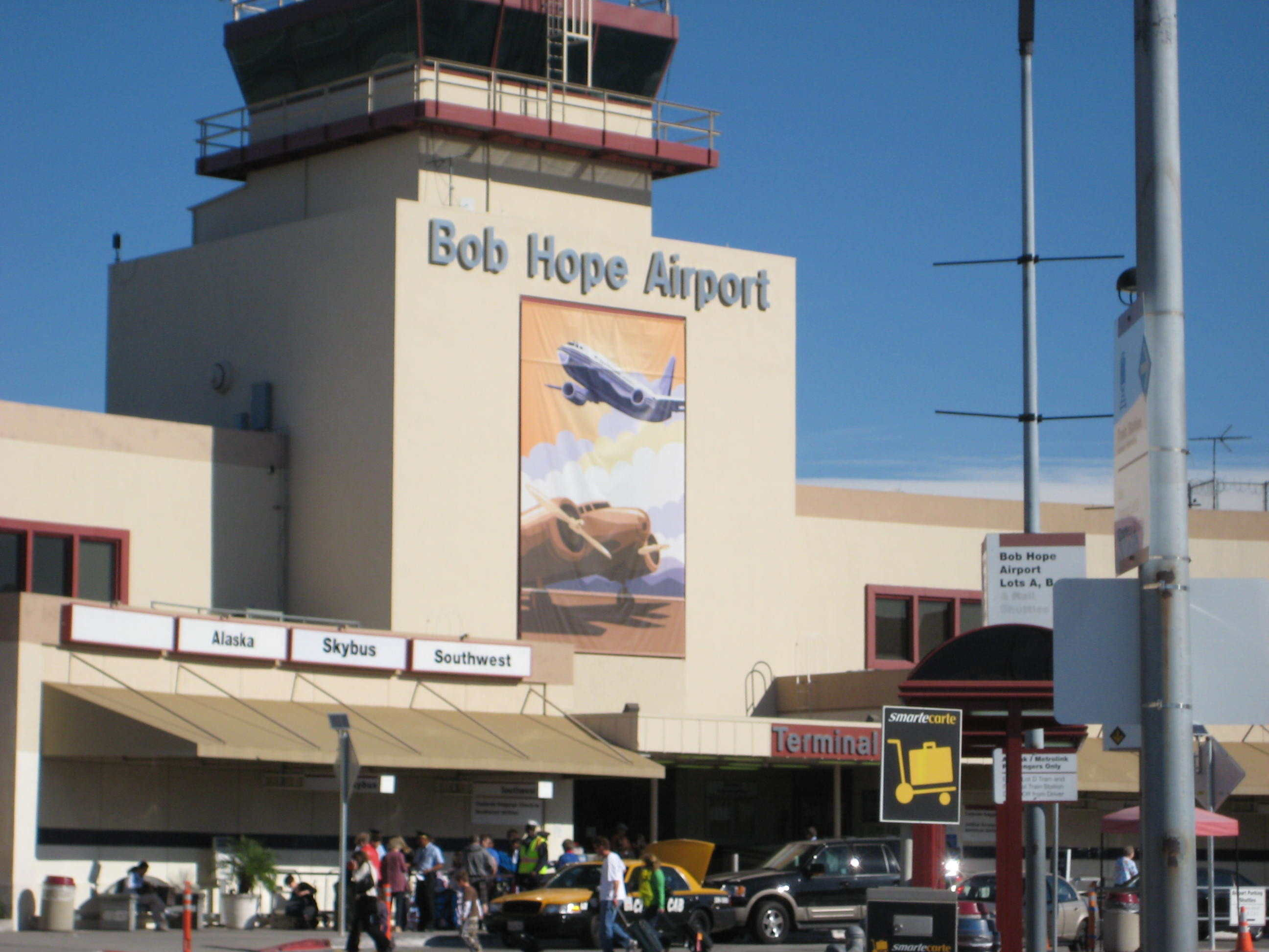Bob Hope Airport in Burbank California