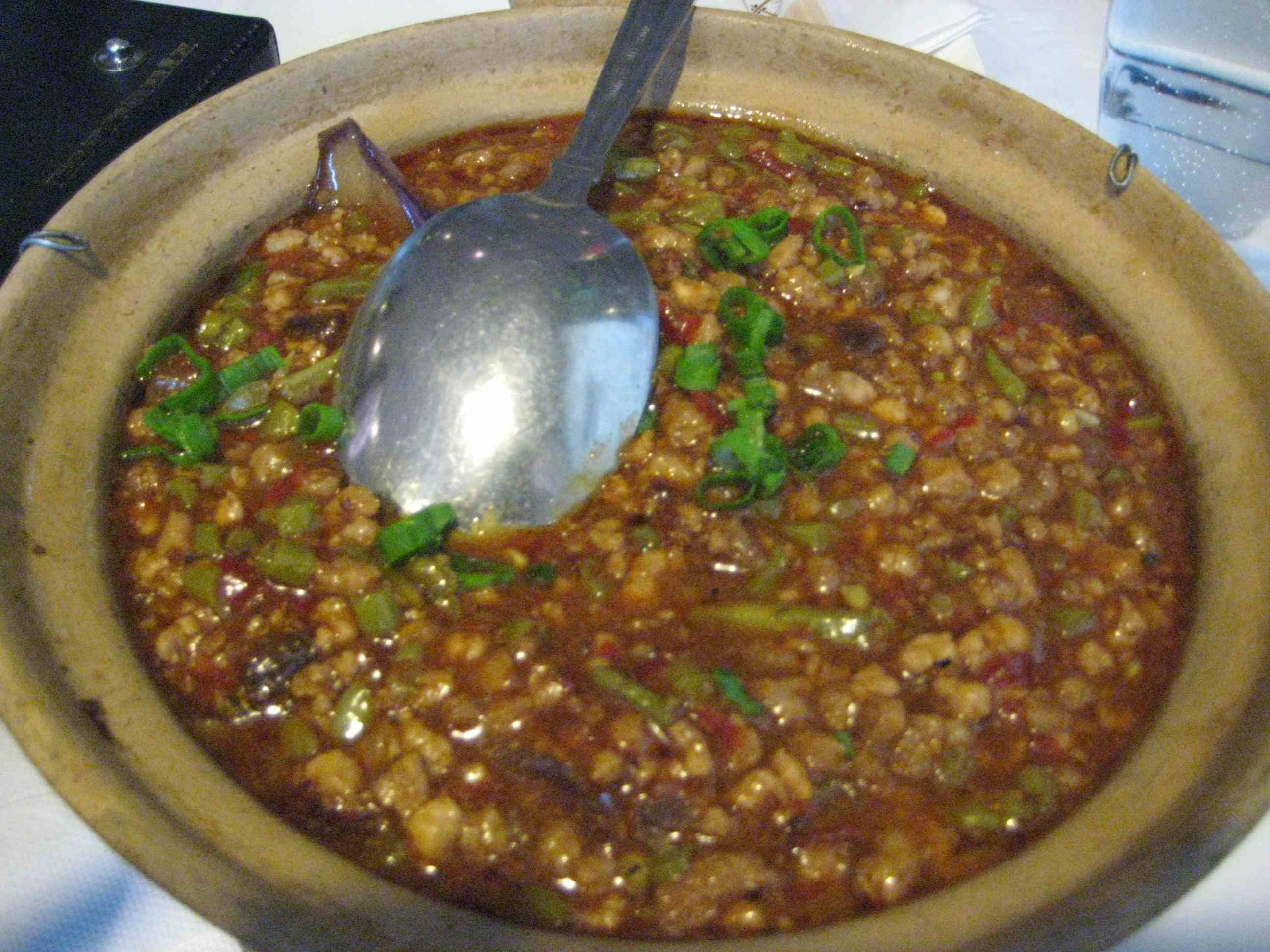 Fengsha Eggplant in Stonepot