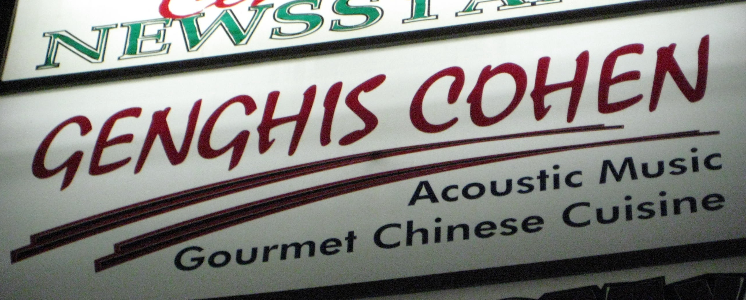 Genghis Cohen in Los Angeles