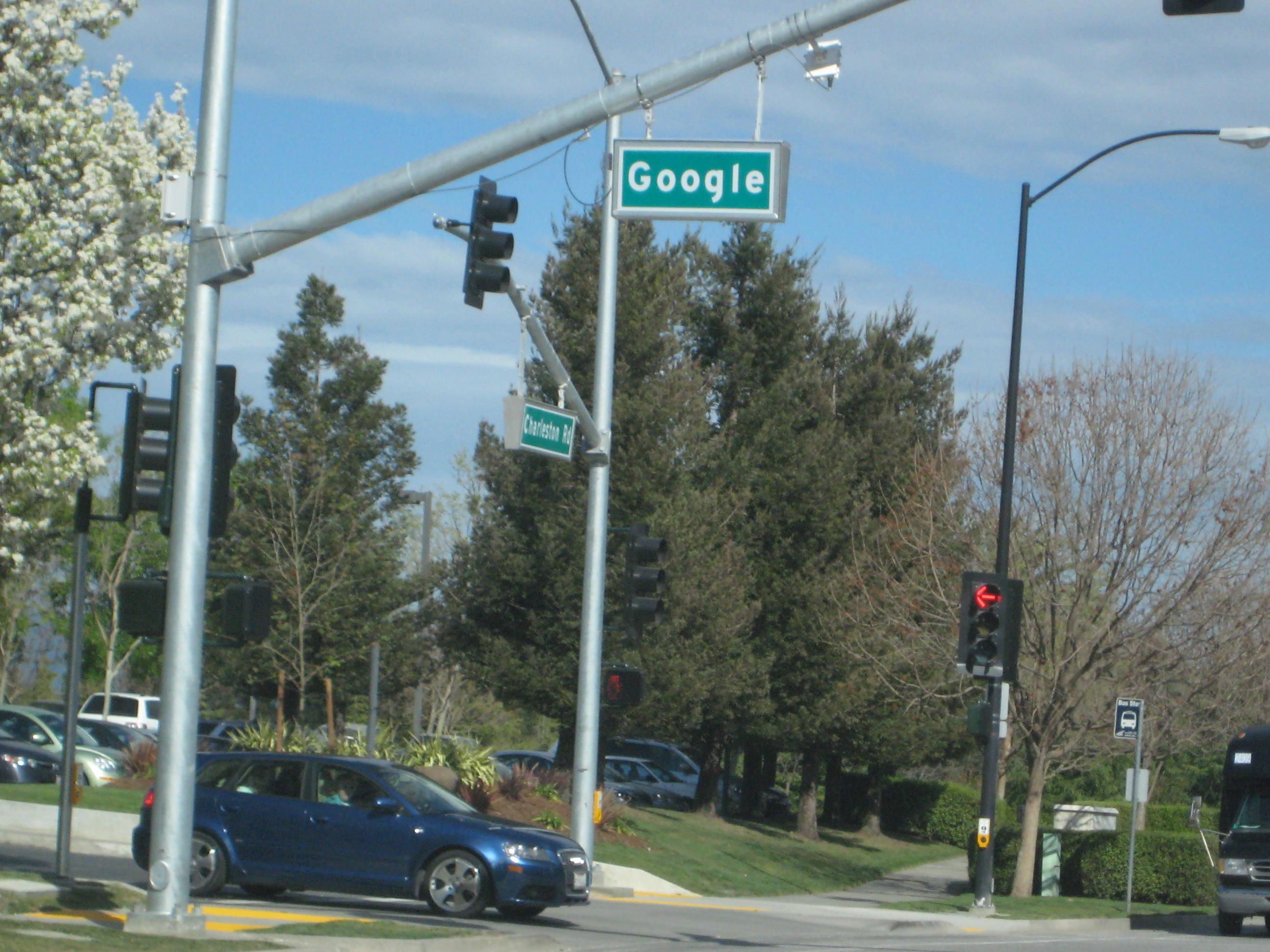 Google Street Sign