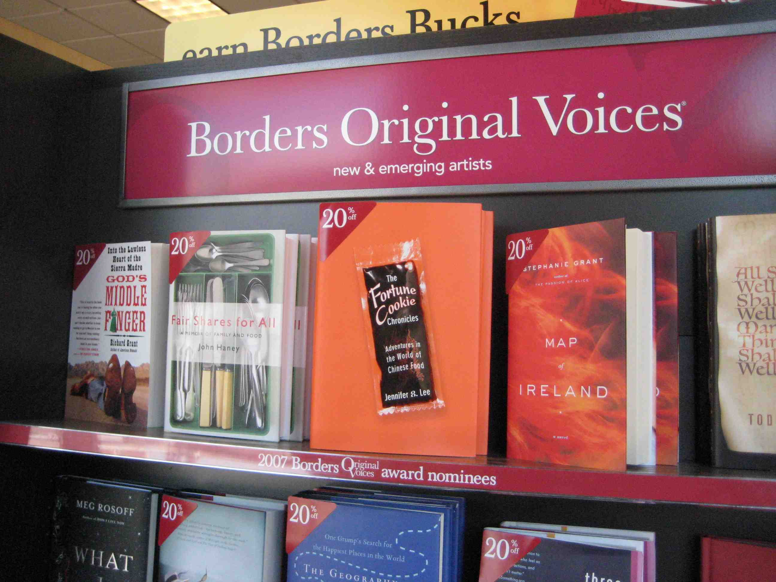 Fortune Cookie Chronicles Borders Original Voices 20% Off