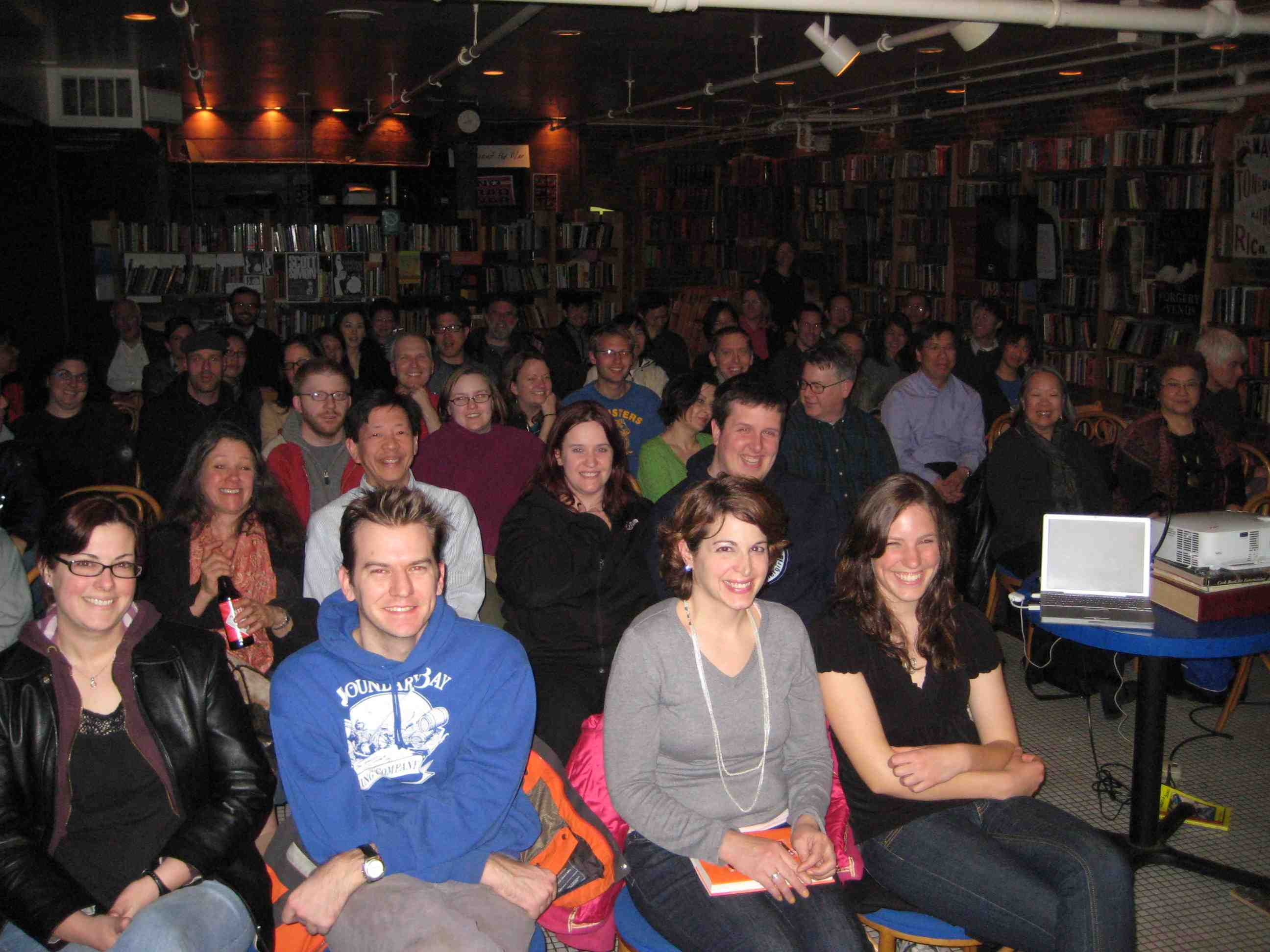 Elliott Bay Audience for The Fortune Cookie Chronicles