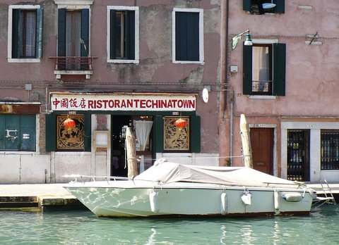 Chinese restaurant in Venice Italy