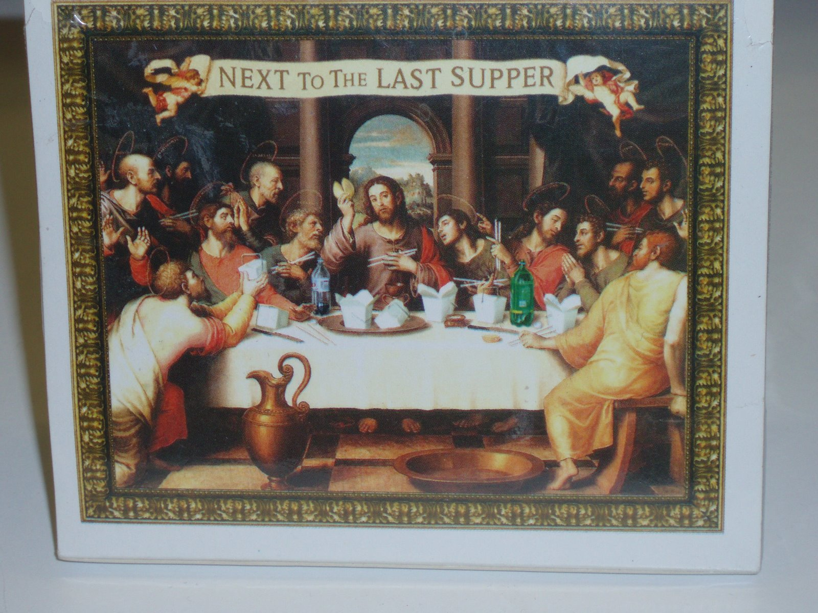 jesus and Chinese food, the next to last supper