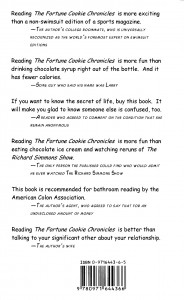 The Fortune Cookie Chronicles back cover